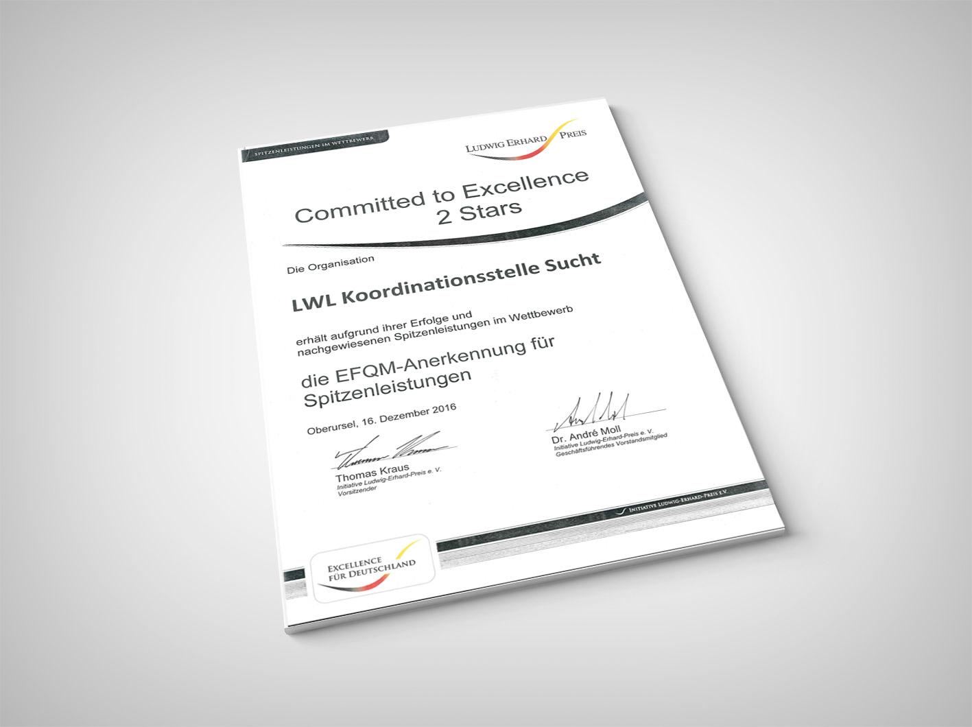 LWL   Aufbaukurs: Suchtberater/-in - Koordinationsstelle Sucht